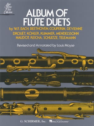 Album of Flute Duets - 2 Flûtes Louis Moyse Partition laflutedepan