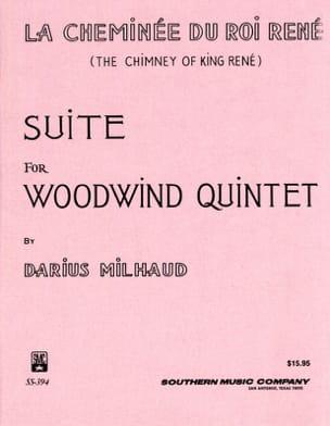 La cheminée du Roi René -Woodquintet - Score + parts laflutedepan