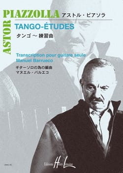 Tango-Etudes Astor Piazzolla Partition Guitare - laflutedepan