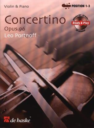 Leo Portnoff - Concertino Opus 96 - Partition - di-arezzo.co.uk