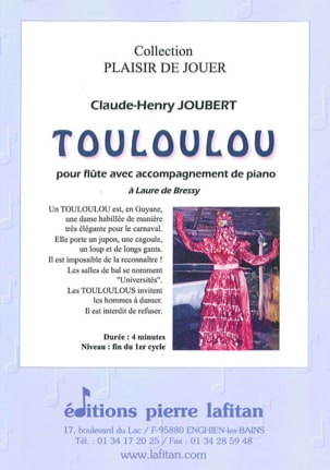 Claude-Henry Joubert - Touloulou - Partition - di-arezzo.es