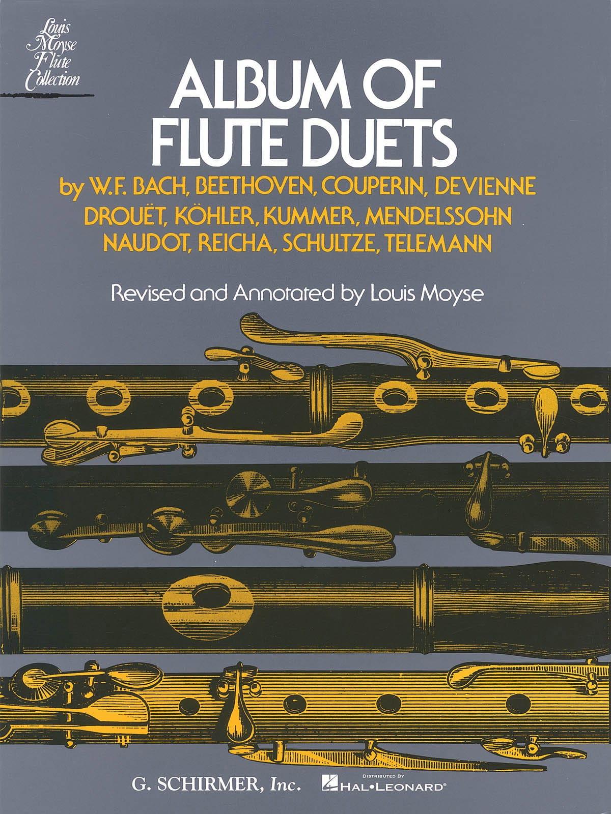 Album of Flute Duets - 2 Flûtes - Louis Moyse - laflutedepan.com
