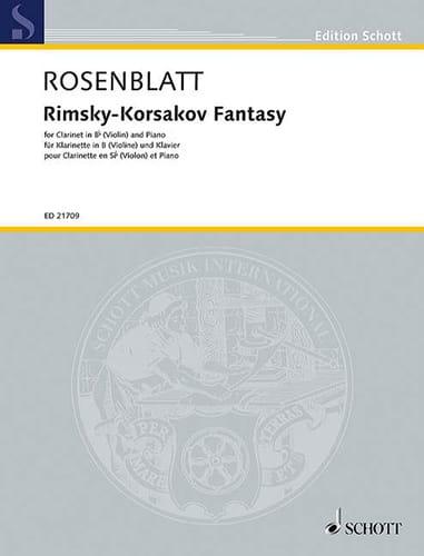 Rimsky-Korsakov Fantasy - Alexander Rosenblatt - laflutedepan.com