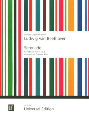 Sérénade, op. 8 - Flöte Klavier BEETHOVEN Partition laflutedepan