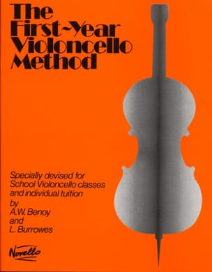 First-year Violoncello method Benoy A. W. / Burrowes L. laflutedepan