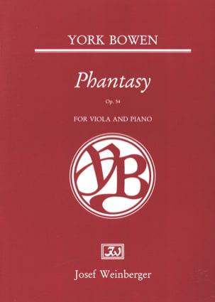 Phantasy Op. 54 Edwin York Bowen Partition Alto - laflutedepan