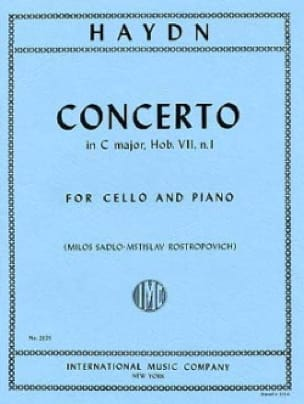 Concerto in C major, Hob. 7, n°1 - HAYDN - laflutedepan.com