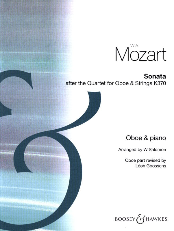 Sonata after Quartet for oboe and strings -Oboe piano - laflutedepan.com