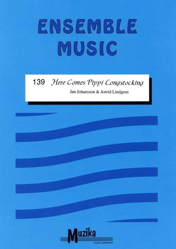 Here comes Pippi Longstocking -Ensemble - laflutedepan.com