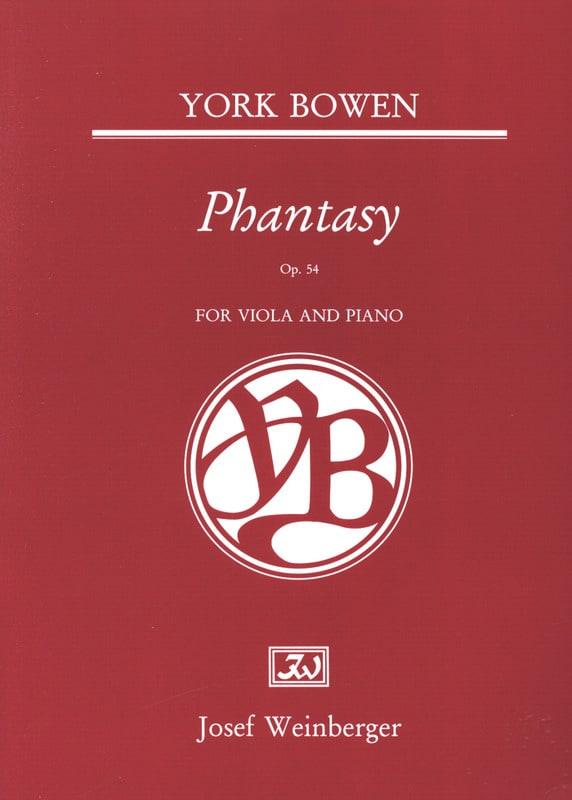 Phantasy Op. 54 - Edwin York Bowen - Partition - laflutedepan.com