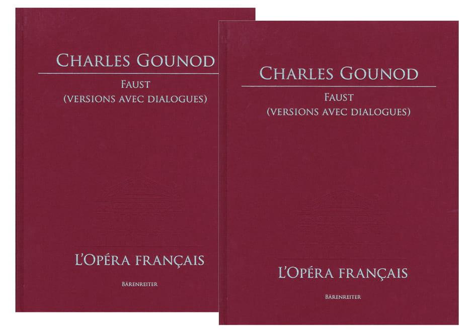 Faust - GOUNOD - Partition - Grand format - laflutedepan.com