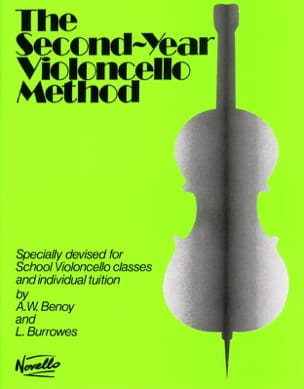 2nd Year Violoncello method Benoy - Burrowes Partition laflutedepan