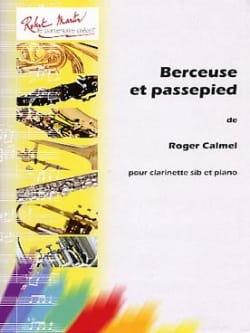 Berceuse et Passepied Roger Calmel Partition laflutedepan