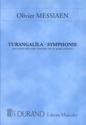 Turangalîla-Symphonie - Conducteur MESSIAEN Partition laflutedepan