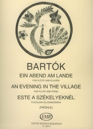 Ein Abend am Lande BARTOK Partition Flûte traversière - laflutedepan