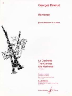 Romance - Georges Delerue - Partition - Clarinette - laflutedepan.com