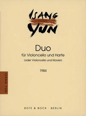 Duo 1984 Isang Yun Partition Violoncelle - laflutedepan
