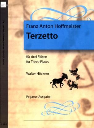 Terzetto HOFFMEISTER Partition Flûte traversière - laflutedepan
