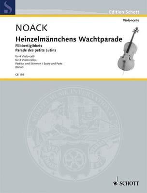 Parade des Petits Lutins Noack Partition Violoncelle - laflutedepan