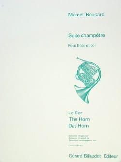Suite champêtre Marcel Boucard Partition Duos - laflutedepan