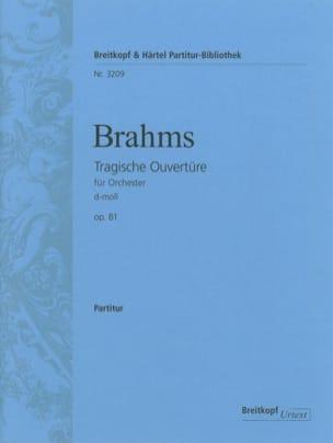 Tragische Ouvertüre op. 81 d-moll - Conducteur BRAHMS laflutedepan