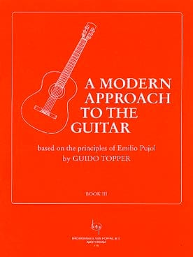 A modern approach to the guitar - Volume 3 Guido Topper laflutedepan