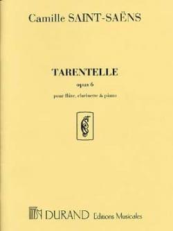 Tarentelle op. 6 - Flûte, clarinette et piano SAINT-SAËNS laflutedepan