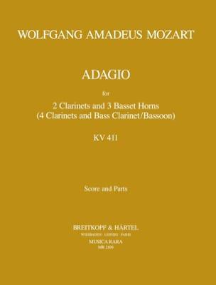 Adagio, Kv 484a 411 - 2 Clarinettes-3 Cors De Basset laflutedepan