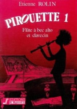 Pirouette 1 Etienne Rolin Partition Flûte à bec - laflutedepan