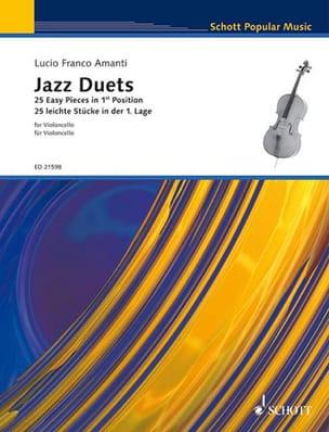 Jazz Duets Lucio Franco Amanti Partition Violoncelle - laflutedepan