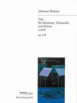 Trio a-moll op. 114 -Klarinette Violoncello Klavier laflutedepan