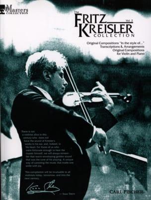 Fritz Kreisler Collection Volume 2 KREISLER Partition laflutedepan