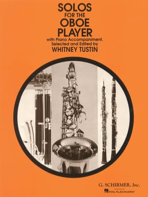 Solos for the Oboe Player Whitney Tustin Partition laflutedepan