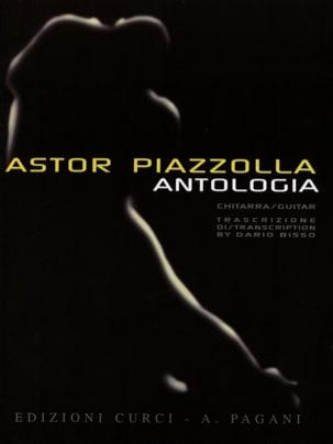 Anthologia -Chitarra Astor Piazzolla Partition Guitare - laflutedepan