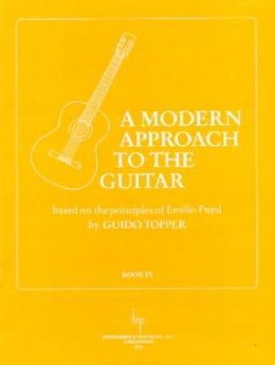 A Modern Approach To The Guitar Volume 4 - laflutedepan.com