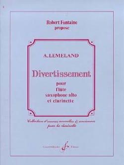Divertissement -Conducteur + parties - laflutedepan.com