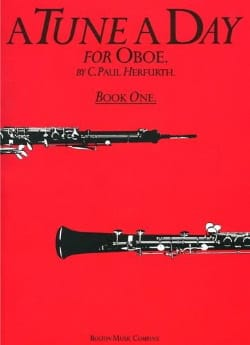 A Tune A Day Volume 1 - Oboe Paul C. Herfurth Partition laflutedepan