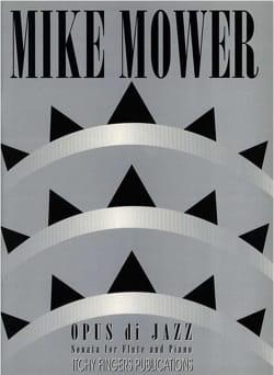 Opus di Jazz Mike Mower Partition Flûte traversière - laflutedepan