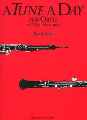 A Tune A Day Volume 1 - Oboe - Paul C. Herfurth - laflutedepan.com