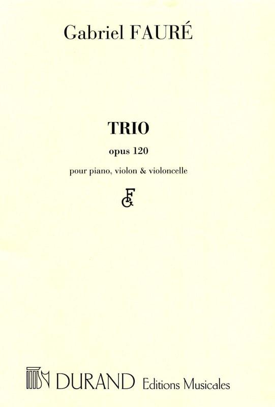 Trio op. 120 -Parties - FAURÉ - Partition - Trios - laflutedepan.com