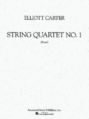 String quartet n° 1 - Score - Elliott Carter - laflutedepan.com