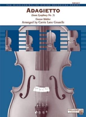 Adagietto From 5th Symphony - laflutedepan.com