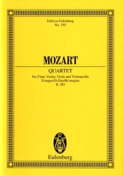 Quartett D-Dur Kv 285 - Conducteur - MOZART - laflutedepan.com