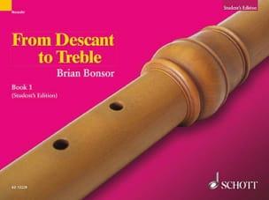 From Descant to Treble - Part 1 Brian Bonsor Partition laflutedepan