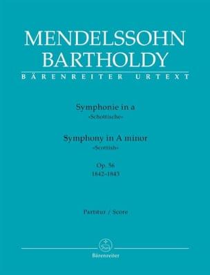 Symphonie N° 3 Ecossaise en la Mineur Op. 56 MENDELSSOHN laflutedepan