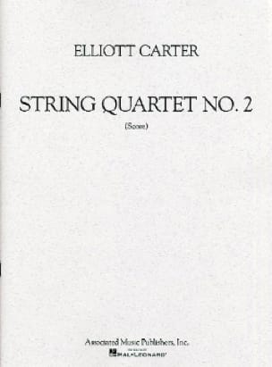 String quartet n° 2 - Score - Elliott Carter - laflutedepan.com