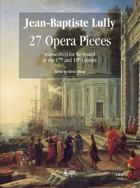 27 Brani d'opera - LULLY - Partition - Grand format - laflutedepan.com