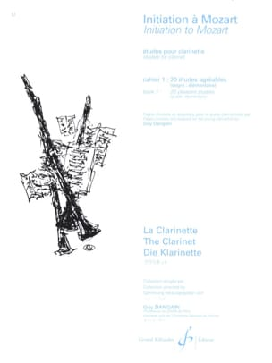 Initiation à Mozart - Cahier 1 laflutedepan