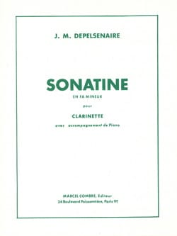 Sonatine en fa mineur - Clarinette laflutedepan