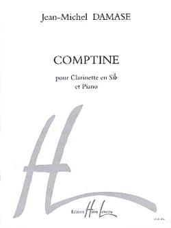 Comptine - Jean-Michel Damase - Partition - laflutedepan.com